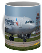 Airbus A319  On Taxi Coffee Mug