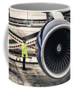 Airbus Engine Coffee Mug by Stelios Kleanthous