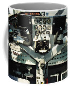 Aircraft Airplane Control Panel Coffee Mug