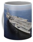 Aircraft Carrier Uss Carl Vinson Coffee Mug