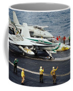 Aircraft Planes F18 Cat Coffee Mug