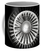 Aircraft Turbofan Engine Coffee Mug