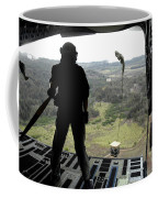 Airman Watches A Practice Bundle Fall Coffee Mug by Stocktrek Images