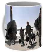 Airmen Arrive In Iraq In Support Coffee Mug