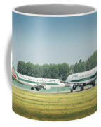 Airplanes That Appear To Be Kissing Coffee Mug