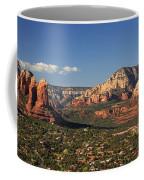 Airport Mesa Overlook At Sunset Coffee Mug