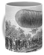 Airship Ascent, 1883 Coffee Mug