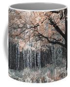 Airy Autumn In Woods Coffee Mug