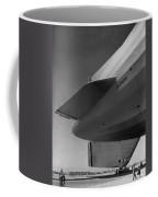 Akron Dirigible At Moffett Coffee Mug