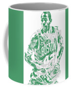 Al Horford Boston Celtics Pixel Art 6 Coffee Mug