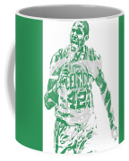 Al Horford Boston Celtics Pixel Art 7 Coffee Mug
