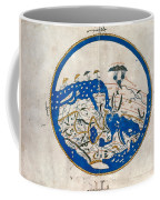 Al-idrisi's World Map Coffee Mug