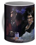 Al Pacino Snow Coffee Mug by Ylli Haruni