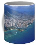 Ala Moana To Diamond Head Coffee Mug