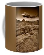Alabama Hills California B W Coffee Mug