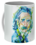 Alan Watts - Watercolor Portrait.4 Coffee Mug