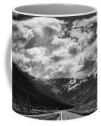 Alaska Bw On The Road  Coffee Mug