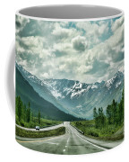 Alaska On The Road  Coffee Mug