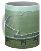 Alaska Pipeline Snakes Its Way Coffee Mug