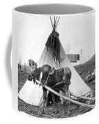 Alaska: Tepee, C1916 Coffee Mug