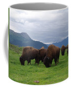 Alaska Wood Bison Coffee Mug