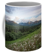 Alaskan Dandelions  Coffee Mug