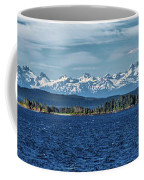 Alaskan Mountain Panorama Coffee Mug
