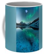 Alaskan Winter Night By Adam Asar 2 Coffee Mug