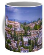 Albayzin View Granada Coffee Mug