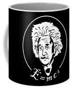 Albert Einstein Discoverer Of The Law Of Relativity Coffee Mug