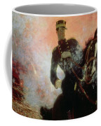 Albert I King Of The Belgians In The First World War Coffee Mug by Ilya Efimovich Repin