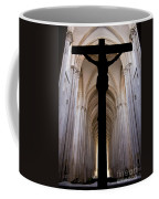 Alcobaca Monastery Church Crucifix Coffee Mug