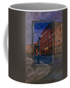 Ale House And Street Lamp Coffee Mug