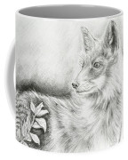 Alert Fox  Coffee Mug