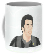 Alessandro Del Piero Coffee Mug by Toni Jaso