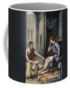 Alexander & Aristotle Coffee Mug by Granger