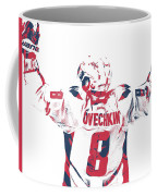 Alexander Ovechkin Washington Capitals Pixel Art 9 Coffee Mug