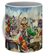 Alexander The Great At The Battle Of Issus  Coffee Mug