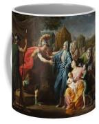 Alexander The Great Receiving The Family Of Darius IIi Coffee Mug