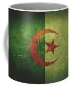 Algeria Distressed Flag Dehner Coffee Mug
