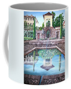 Alhambra Spain Reflections Coffee Mug