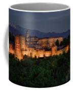 Alhambra Sunset Coffee Mug