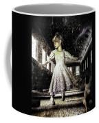 Alice And The Rabbit Coffee Mug by Bob Orsillo