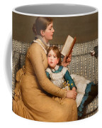 Alice In Wonderland Coffee Mug by George Dunlop Leslie