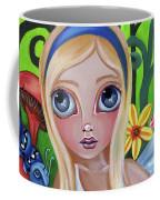 Alice Meets The Caterpillar Coffee Mug