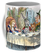 Alices Mad-tea Party, 1865 Coffee Mug