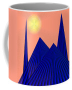 Alien Fortress Coffee Mug