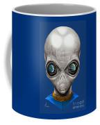 Alien From Space Coffee Mug