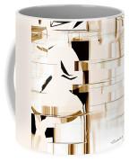 Alien Look Out Coffee Mug