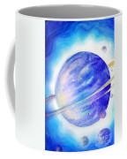 Alien Planet. Blue Light Of Hope Coffee Mug